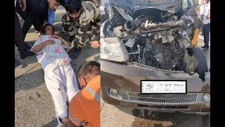 Shabana Azmi injured in car accident, rushed to hospital..