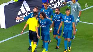 10 Ridicilous Referee Decisions Against Real Madrid ( El clásico)