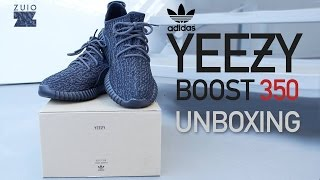 "Adidas Yeezy Boost 350 ""Pirate Black"" - UNBOXING"