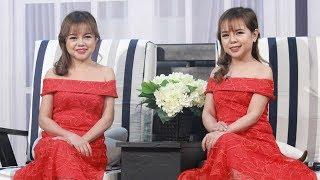 Hai chị em búp bê xinh Thanh Hằng Thanh Hà tiết lộ chuyện tình yêu và sinh con của thế giới tí hon❤️