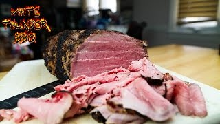 Deli Style Roast Beef at Home | Smoked Eye of Round Roast