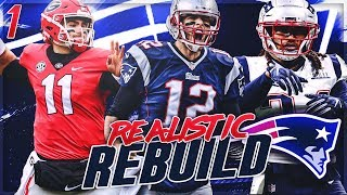 Rebuilding The New England Patriots | Jake Fromm Drafted To Replace Tom Brady | Madden 20 Franchise