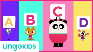ABC Chant 🎵 ENGLISH FOR KIDS | LINGOKIDS