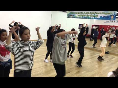 2015/11/02 SM Studio 體驗當練習生 學少女時代的PARTY舞蹈