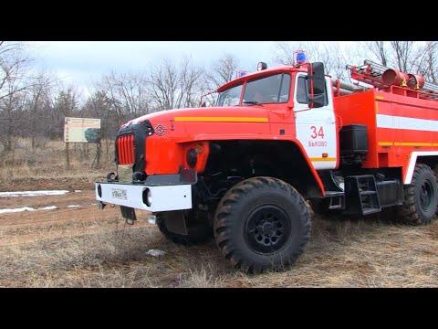 Пожарная обстановка на территории Быковского муниципального района