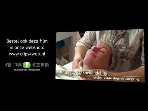 Film Totale gezichtsbehandeling, vrouw: