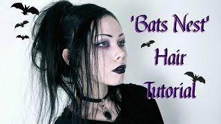BATS NEST HAIR TUTORIAL || Great For Long Hair!