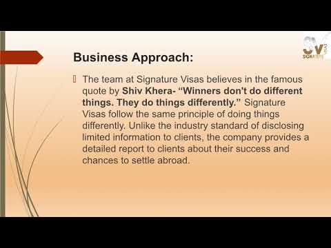Signature Visas Expands Its Services to Pan India