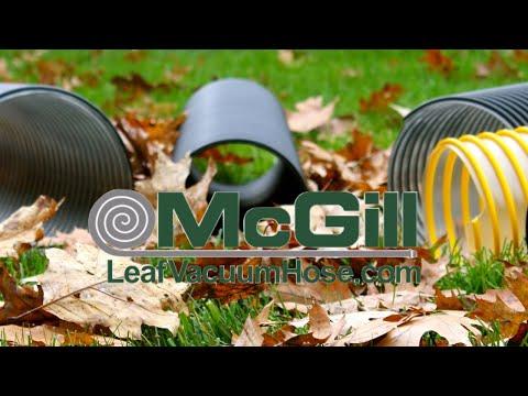 Leaf Vacuum Hose, Lawn Vacuum Hose & Mulch Hose