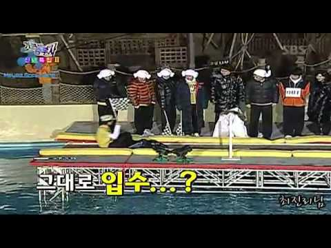 g-dragon is very athletic funny !!