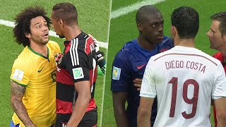 When Players Lose Their Cool (FIFA World Cup Brazil 2014)