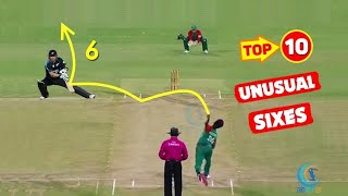 Top 10 One Handed Sixes In Cricket Ever    Cricketing Phantoms   