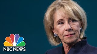 Educators Say Betsy DeVos Is Funneling Pandemic Funding Into Private Schools | NBC News