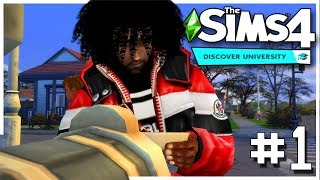 Let's Play The Sims 4 Official University - EP.1 - Enrollment 😁🎓