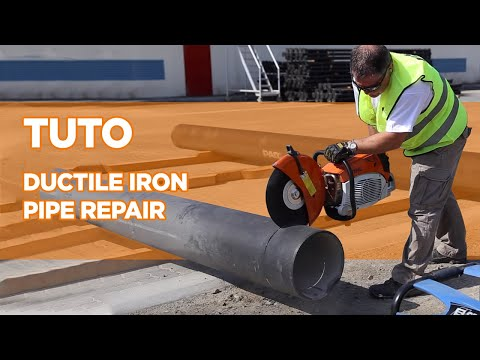 Ductile Iron Pipe Repair Tutorial Saint Gobain Pam