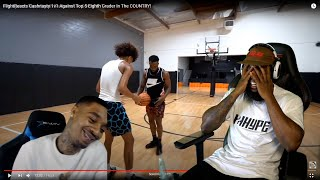 FLIGHT HATING Once Again...FlightReacts Cash 1v1 Against Top 5 Eighth Grader In The COUNTRY