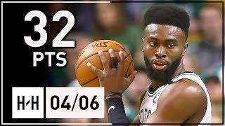 Jaylen Brown Full Highlights Celtics vs Bulls (2018.04.06) - 32 Points!