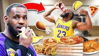 Eating The Lebron James Diet For 24 Hours!