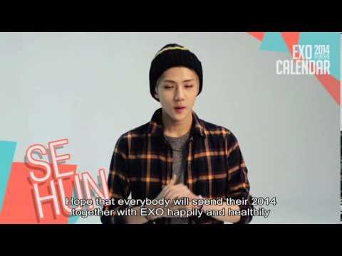 [Eng Sub] EXO 2014 Season Greetings