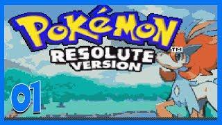 Let's Play Pokemon Resolute Part 1 - Grammar Still Atrocious Gameplay Walkthrough