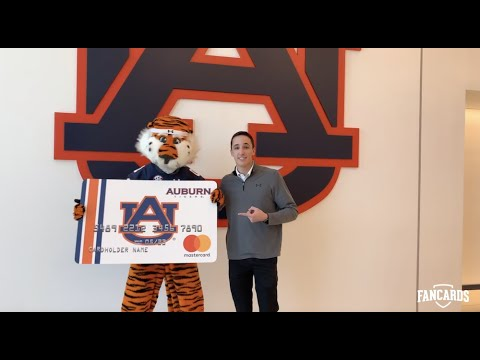 Fancards announces partnership with Auburn Athletics, with a little bit of help from Aubie
