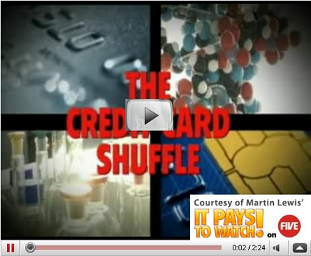 Do the credit card shuffle with Martin Lewis
