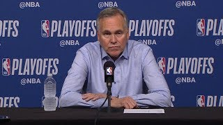 Mike D'Antoni Postgame Interview - Game 6 | Warriors vs Rockets | 2019 NBA Playoffs