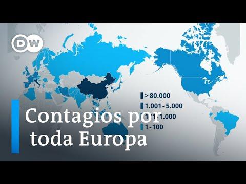 La expansión del coronavirus por el mundo