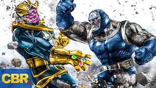 Thanos vs. Darkseid: How It Would Go Down