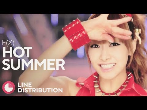F(X) - Hot Summer (Line Distribution)