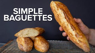 How to make Amazing French Baguettes at home