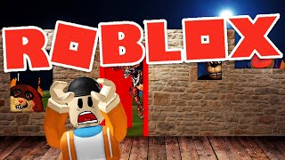SURVIVE THE DANTDM AND MONSTER ATTACKS IN ROBLOX! | Roblox Build To Survive Gameplay