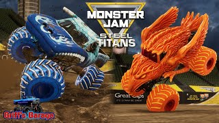 All 12 Fire and Ice Monster Truck Freestyle Tournament | Monster Jam Steel Titans