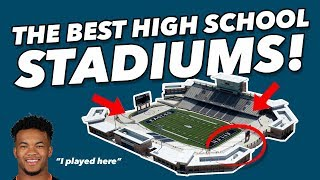 The BEST High School Football Stadiums in America