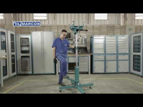 Macaco Telescópico Para Retirar Câmbio 500Kg 4102 Marcon - Vídeo explicativo