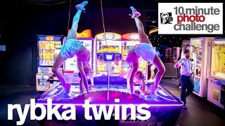 RYBKA TWINS Storm Luna Park for Spectacular 10 Minute Photo Challenge in Melbourne