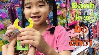 Stin Dâu Đi Siêu Thị Nhật & Big C (^_^) Bánh Kẹo & Đồ Chơi Mới - Hai anh em.