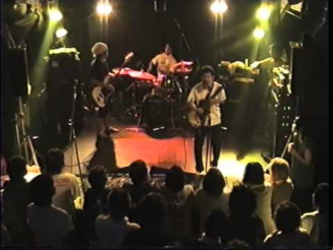 サンボマスター「カンフーロック」2002年6月8日@神戸Star Club