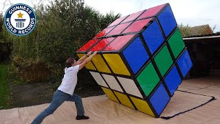 Making the largest Rubik's Cube - Guinness World Records