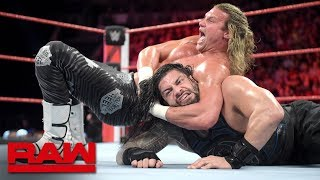 Roman Reigns vs. Dolph Ziggler: Raw, Oct. 1, 2018