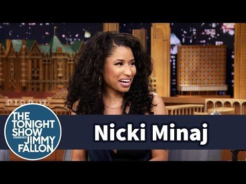 Nicki Minaj Compares Yearbook Photos with Jimmy
