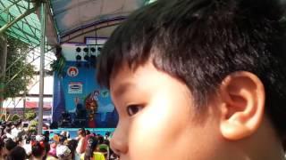 Hội thi aerobic mầm non 2017-bé vui khỏe remix hoa phượng 1