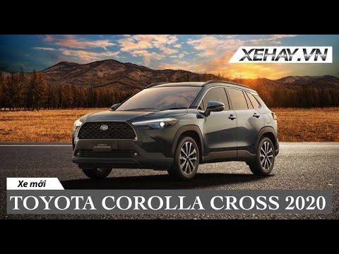 Corolla Cross - SUV Hybrid của Toyota ra mắt tại Thái - sớm về VN |XEHAY.VN|