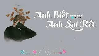 Anh Biết Anh Sai Rồi - Vương Anh Tú [ Video Lyrics ]