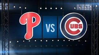 7/25/15: Hamels tosses no-hitter as Phils top Cubs