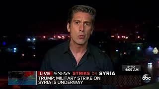 Trump retaliates, launches strike against Syria and Assad
