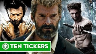Wolverine Through The Years (Including LOGAN 2017)
