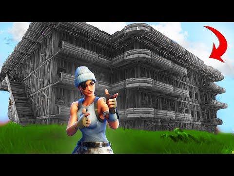 BUILDING THE CLOUT HOUSE MANSION | Fortnite Battle Royale
