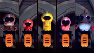 Larva biệt đội sâu róm phiên bản siêu nhân gao