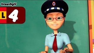 Los Agentes de Tráfico, seguridad vial para niños - Luz verde